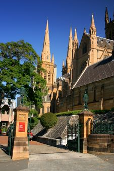 Free St Mary S Cathedral, Sydney Royalty Free Stock Images - 2789769