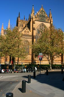 St Mary S Cathedral, Sydney Stock Photos