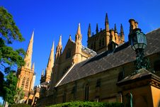 Free St Mary S Cathedral, Sydney Royalty Free Stock Images - 2789809