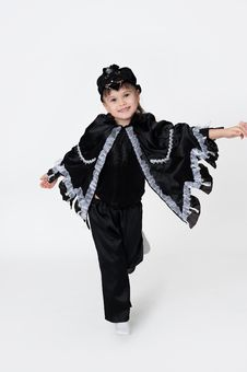 Free Black Crow Fancy Dress Royalty Free Stock Images - 27801749