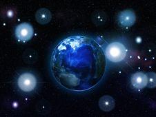 Free The Earth Ball Stock Photo - 27803700