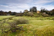 Free Mitford Castle Ruin Royalty Free Stock Photo - 27803975