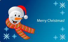Free Snowman Royalty Free Stock Image - 27805496