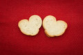 Free Bread In The Shape Of Hearts Stock Photography - 27815362