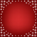 Free Christmas Background With Snowflakes Stock Photos - 27817613