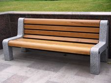 Bench To Rest. Stock Images