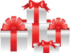 Free Christmas Gifts Stock Photography - 27817882
