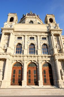 Free Kunsthistorisches Museum In Vienna, Austria Royalty Free Stock Photo - 27818465