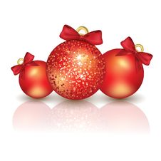 Free Christmas Tree Balls Stock Photo - 27819180