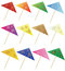 Free Set Of Cocktail Umbrella Stock Photography - 27815922