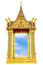 Free Thai Temple Window Royalty Free Stock Photos - 27821038