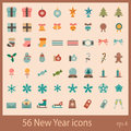 Free New Year Icons Stock Images - 27828254