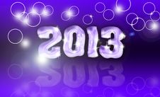 Free Pour Feliciter 2013 Royalty Free Stock Photo - 27822795