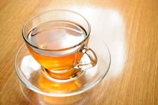 Free Glass Cup Of Green Tea Stock Image - 27824451