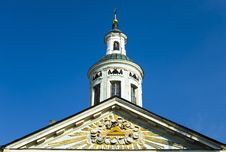 Cupola Of Russian Church In Riga Royalty Free Stock Photography