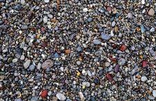 Multicolored Sea Pebbles Royalty Free Stock Image