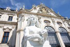 Free Belvedere In Vienna, Austria Stock Photography - 27827912