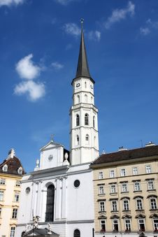 St. Michael S Church In Vienna, Austria Stock Photo