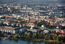 Free View On Pfarre St. Leopold, Vienna From Donauturm Royalty Free Stock Image - 27828056