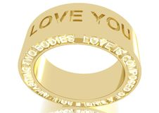Free Love Ring Royalty Free Stock Image - 27828106