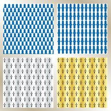 Free Heraldic Pattern, Background Stock Image - 27828861
