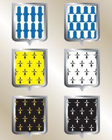 Free Shield, Heraldic Pattern, Royalty Free Stock Photo - 27828965