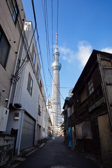 Free Tokyo Sky Tree Stock Images - 27829044