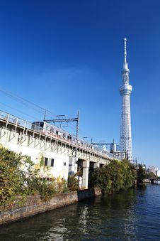 Free Tokyo Sky Tree Stock Images - 27829054