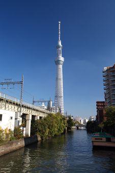 Free Tokyo Sky Tree Royalty Free Stock Image - 27829056