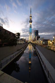 Free Tokyo Sky Tree Royalty Free Stock Photography - 27829067