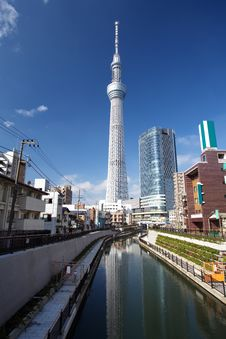 Free Tokyo Sky Tree Royalty Free Stock Photos - 27829078