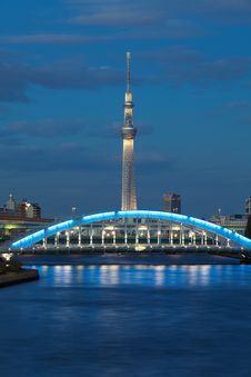 Free Tokyo Sky Tree Stock Images - 27829094
