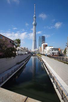 Free Tokyo Sky Tree Stock Photography - 27829142