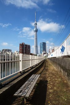 Free Tokyo Sky Tree Royalty Free Stock Images - 27829169