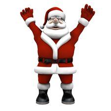 Cartoon Santa Royalty Free Stock Photo