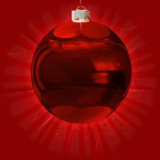 Free Red Ball Background Royalty Free Stock Image - 27829586