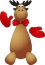 Free Happy Reindeer Puppet Stock Photos - 27832933