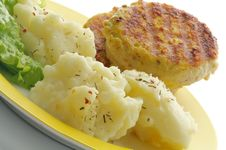 Free Mashed Potato And Meat Rissoles Stock Images - 27830134