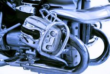 Free Motorcycle Engine Stock Photos - 27830903