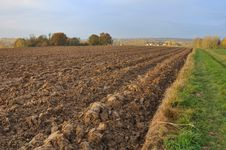 Agricultural Land Royalty Free Stock Images