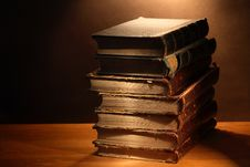 Free Old Books Royalty Free Stock Photos - 27834798