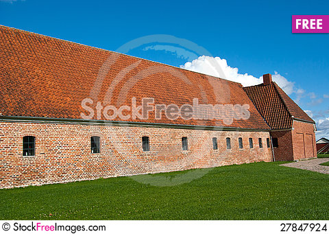 Free Old Farm Horse Stable Denmark Stock Images - 27847924