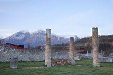 Free Alba Fucens - Aquila - Italy Royalty Free Stock Photography - 27848657