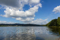 Free Lipno Lake In Czech Republic. Stock Image - 27856571