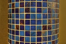 Free Column With Glass Mosaic Royalty Free Stock Photo - 27854625