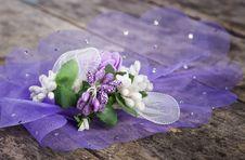 Free Wedding Flower On Table Stock Photo - 27855870