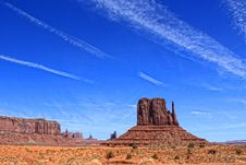 Free Monument Valley Stock Photo - 27855910