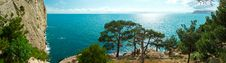 Free View From The Crimean Mountains In The Black Sea Royalty Free Stock Photography - 27856617