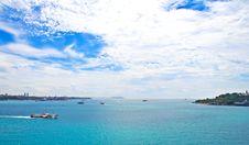 Bosporus Strait, Istanbul Stock Images