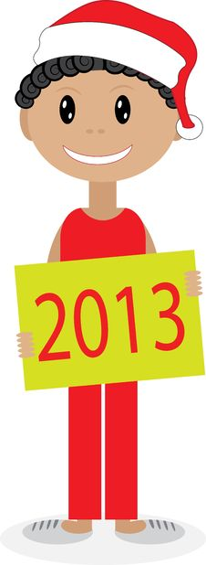 Free New Year. 2013. Royalty Free Stock Photo - 27859595